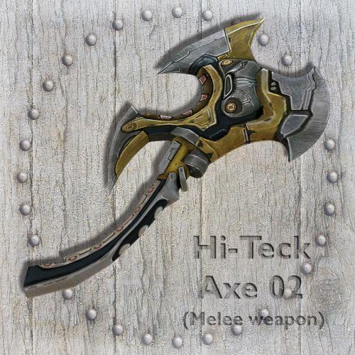 Hi-Teck Axe 02
