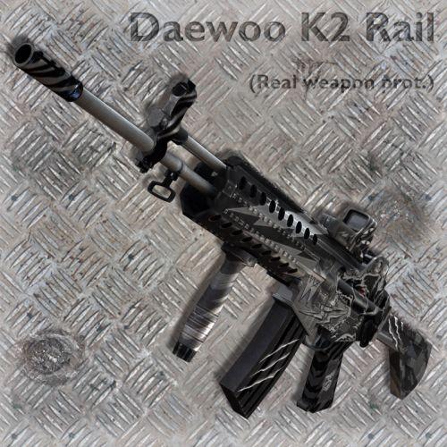 Daewoo K2 Rail