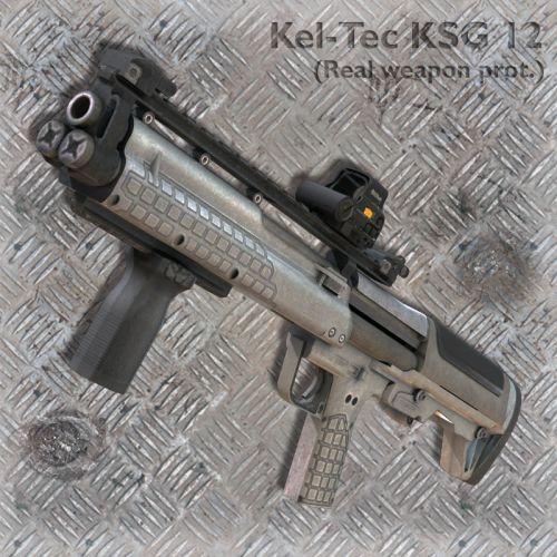 Kel-Tec KSG 12