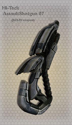 Hi-Teck AssaultShotgun 07