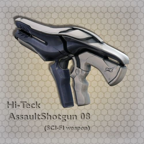 Hi-Teck AssaultShotgun 08