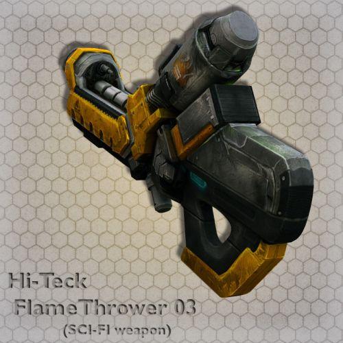 Hi-Teck FlameThrower 03