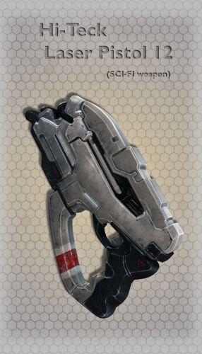 Hi-Teck Laser Pistol 12