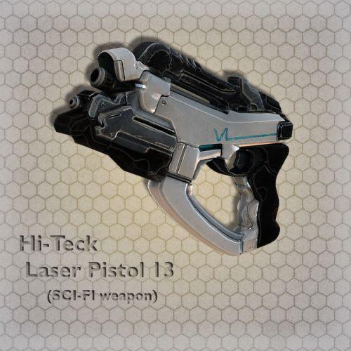 Hi-Teck Laser Pistol 13