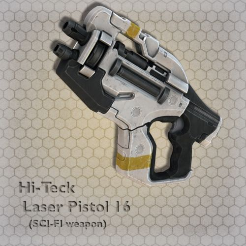 Hi-Teck Laser Pistol 16