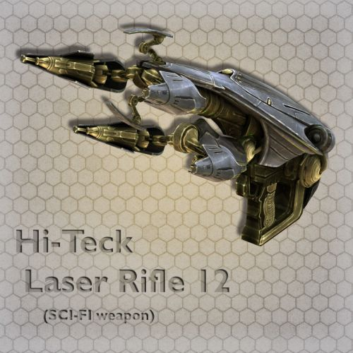 Hi-Teck Laser Rifle 12