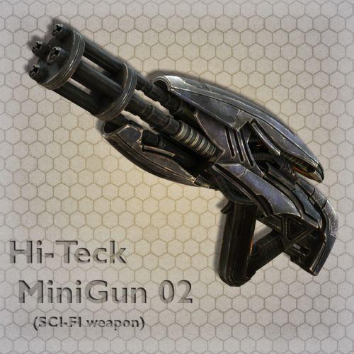 Hi-Teck MiniGun 02