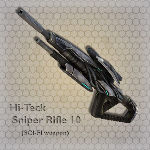 Hi-Teck Sniper Rifle 10