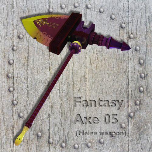 Fantasy Axe 05