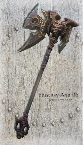 Fantasy Axe 06