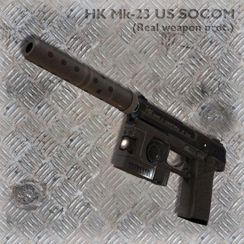 HK Mk-23 US SOCOM