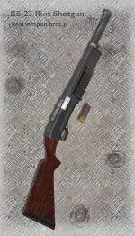 KS-23 Riot Shotgun