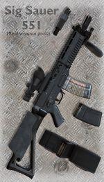 Sig Sauer 551 SWAT