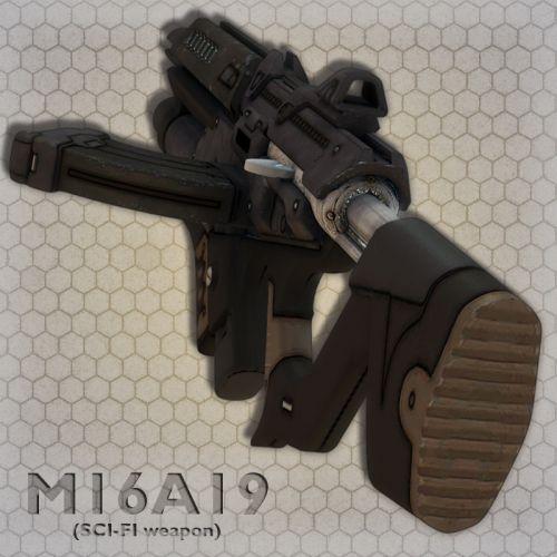 M16A19