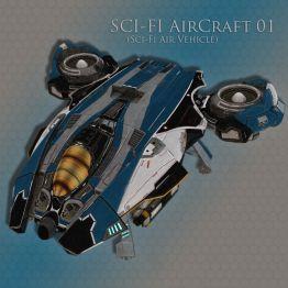 SCI-FI AirCraft 01