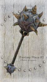 Fantasy Mace 02