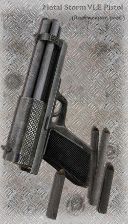 Metal Storm VLE Pistol