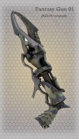 Fantasy Gun 01
