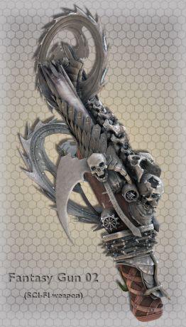 Fantasy Gun 02