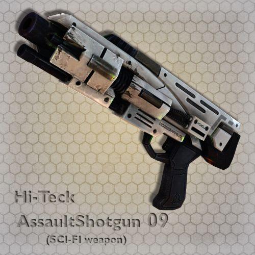 Hi-Teck AssaultShotgun 09
