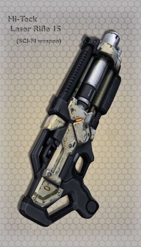 Hi-Teck Laser Rifle 15