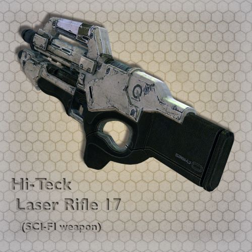 Hi-Teck Laser Rifle 17