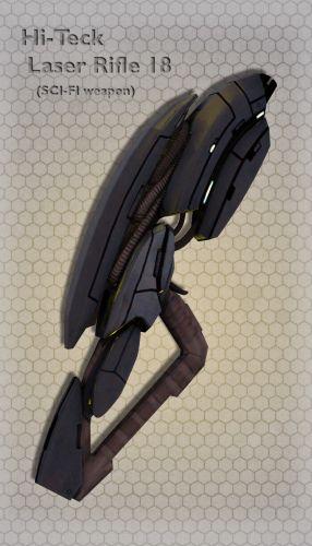 Hi-Teck Laser Rifle 18