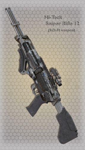 Hi-Teck Sniper Rifle 12