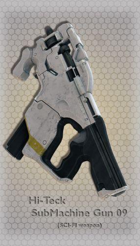 Hi-Teck SubMachine Gun 09