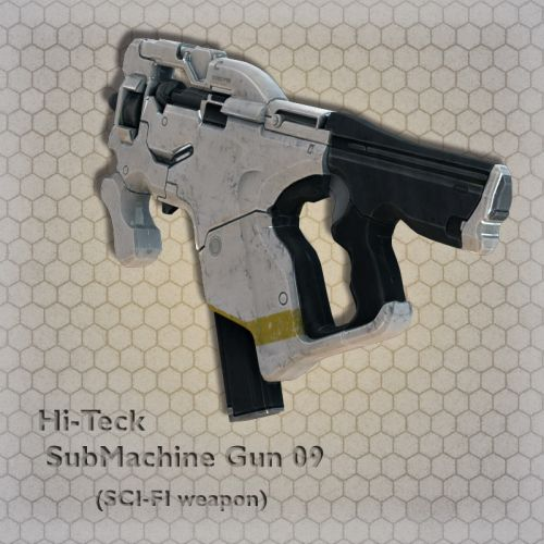 Hi-Teck SubMachine Gun 09