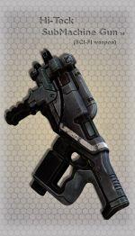 Hi-Teck SubMachine Gun 10