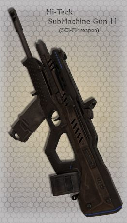 Hi-Teck SubMachine Gun 11