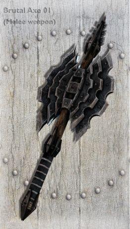 Brutal Axe 01