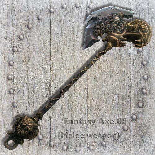 Fantasy Axe 08