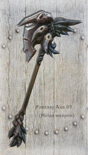 Fantasy Axe 09