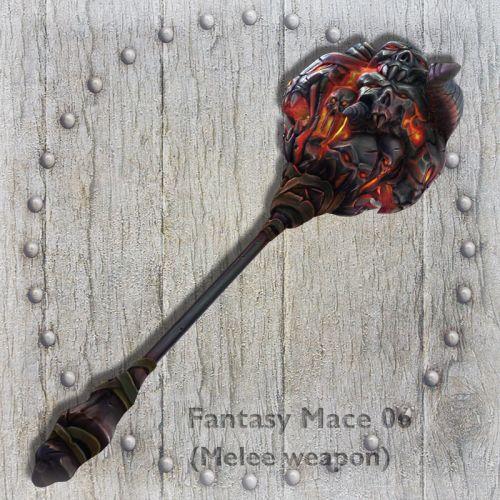 Fantasy Mace 06