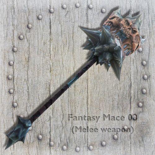 Fantasy Mace 08