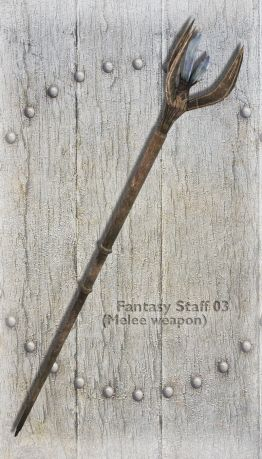 Fantasy Staff 03