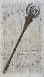 Fantasy Staff 05