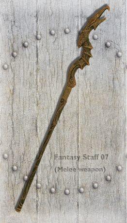 Fantasy Staff 07