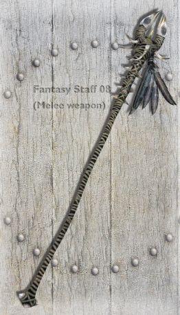 Fantasy Staff 08