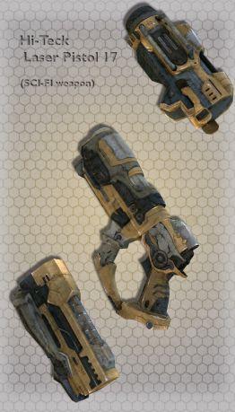 Hi-Teck Laser Pistol 17