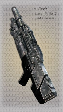Hi-Teck Laser Rifle 21