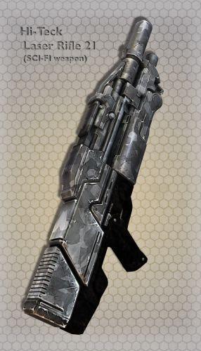 Hi-Teck Laser Rifle 21