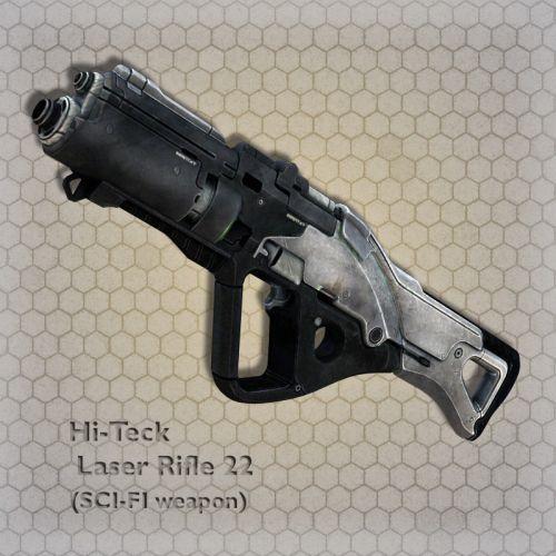 Hi-Teck Laser Rifle 22