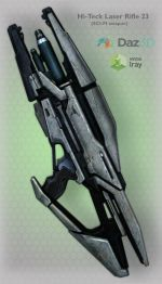 Hi-Teck Laser Rifle 23