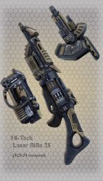 Hi-Teck Laser Rifle 25