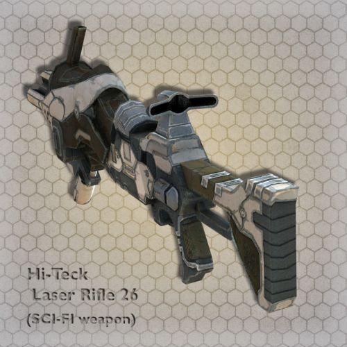 Hi-Teck Laser Rifle 26