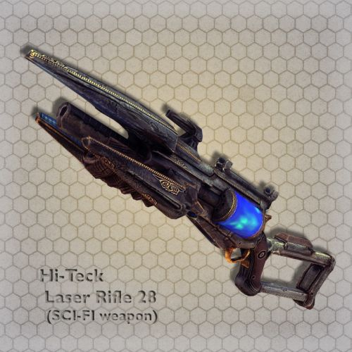 Hi-Teck Laser Rifle 28