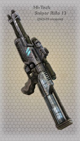 Hi-Teck Sniper Rifle 13
